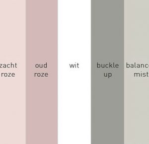 Grey, pink, white and rose gold